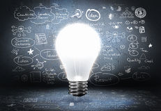 Bright ideas Stock Images