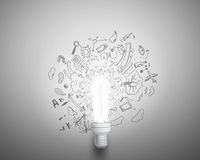 Bright ideas Royalty Free Stock Image