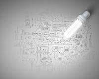 Bright ideas Royalty Free Stock Image