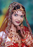 Bright Indian Bride. Royalty Free Stock Image