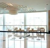 Bright indoor leisure café Stock Images