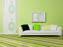 Bright interior design Royalty Free Stock Photography