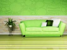 Bright interior design Royalty Free Stock Image