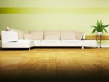 Bright interior design Stock Photo
