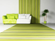 Free Bright Interior Desing Of Living Room Royalty Free Stock Images - 19072909