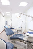 Bright interior of european stomatology Royalty Free Stock Photos