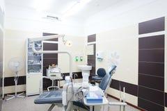 Bright interior of european stomatology Royalty Free Stock Image