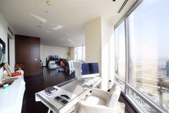 Bright interior of living room Stock Image