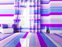 Bright interior with nice stripes Stock Image