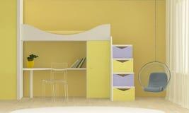 Bright interior of the playroom Stock Photo