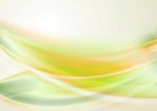 Bright iridescent vector waves Royalty Free Stock Photo