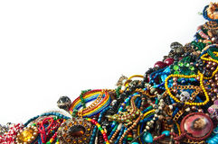 Bright jewelry background Stock Photos