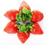 Bright juicy fresh strawberries Royalty Free Stock Photo