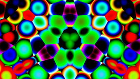 Bright kaleidoscope Stock Image