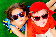 Bright kids Royalty Free Stock Image