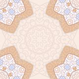 Bright lace seamless pattern Royalty Free Stock Images