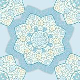 Bright lace seamless pattern Royalty Free Stock Photos