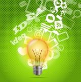 Bright lamp Stock Image