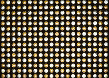 Bright LED lights Stock Photo