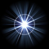 Bright Lens Flare Burst royalty free illustration