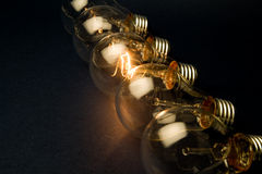 Bright Light Bulb Royalty Free Stock Photos