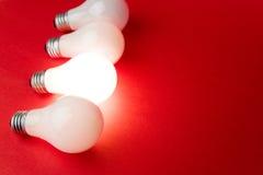 Bright Light Bulb Stock Image