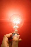 Bright Light Bulb Royalty Free Stock Image