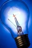 Bright Light Bulb Stock Photo