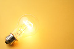 Bright Light Bulb Royalty Free Stock Photography