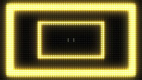 Bright Light Bulb Rectangle Marquee Loop