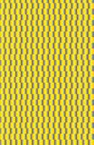 A yellow and gray gradient checkerboard pattern. stock illustration