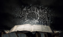 Bright light of education Royalty Free Stock Images