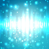 Bright Light Pulses Royalty Free Stock Image