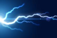 Bright lightning strike Royalty Free Stock Photo