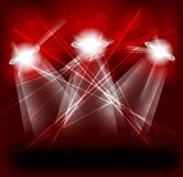 Bright lights Stock Image