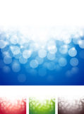 Bright Lights Abstract Background. A bright lights blurry abstract background colorful set Stock Photos