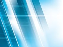 Bright lights on blue abstract background vector. With stripes shapes Stock Photo
