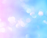 Bright lights holiday background. Bright holiday background bokeh with magic blur blue pink lights stock photos