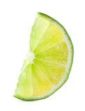 Bright lime slice Stock Photo