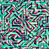 Bright lines seamless pattern. (eps 10 Royalty Free Stock Photo