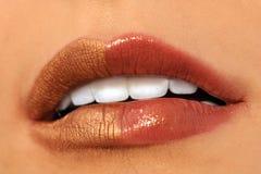 Bright lips Stock Photo