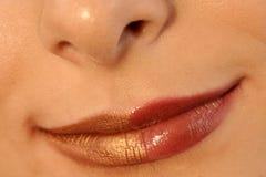 Bright lips Royalty Free Stock Image