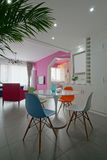 Bright living room Stock Images