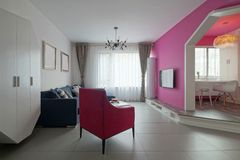 Bright living room Royalty Free Stock Images