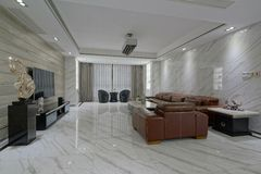 Bright living room Royalty Free Stock Photo
