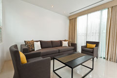 Bright Living room Royalty Free Stock Photos