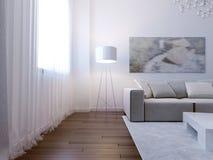 Bright living room interior Royalty Free Stock Photos
