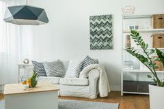 Bright living room Royalty Free Stock Photos