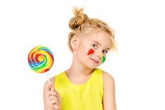 Bright lollipop Stock Images