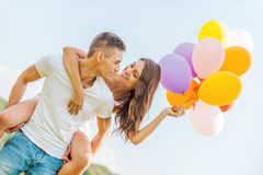 Bright love. Stock Images